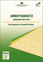 Arbeitsgesetz (Bereinigter Text, August 2014.)